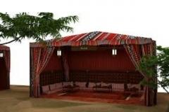 Arabic tents abudhabi