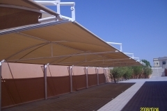 car parking shade in abudhabi