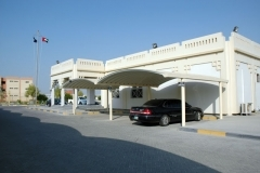 car parking shade in dubai