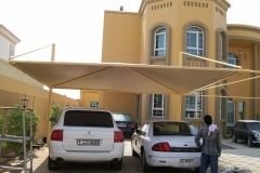 car parking shade in sharjah